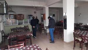 Sultanbeyli ve Küçükçekmecede açık olan kahvehanelere para cezası kesildi