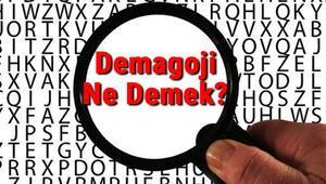 Demagoji Ne Demek Demagoji Nedir Demagoji Tdk Kelime Anlamı