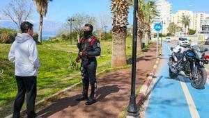 Antalyada yürüyüş yollarına izin yok