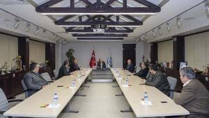Belediye Başkanlarından koronavirüs toplantısı