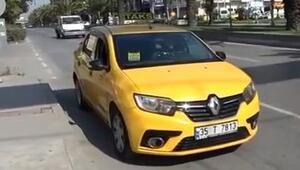 İzmirde taksiciler tek-çift uygulamasından memnun