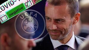 UEFA Başkanı Ceferinden corona virüsü savunması Biyolojik bomba...