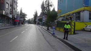 Hatay'ın bazı ilçelerinde caddeler ve sokaklar trafiğe kapatıldı