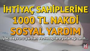 1000 TL yardım kimlere ne zaman verilecek Sosyal yardım başvuru formu var mı nereden açılır
