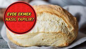 Ekmek nasıl yapılır Ekşi mayalı ekmek -somun ekmek tarifi ve evde ekmek yapımının püf noktaları