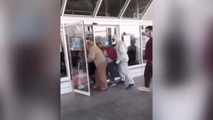 Ukrayna'da karantinadan böyle kaçtılar