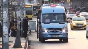 Esenyurtta şaşırtan görüntü Minibüs durduruldu ve...