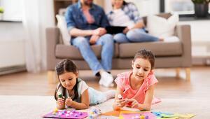 Evde sıkılan çocuk kalmasın İşte birbirinden keyifli aktiviteler