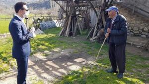 Fekede Vefa Destek Grubu kırsal mahallelerde evde kal çağrısı yaptı