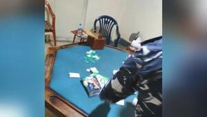 Karantinadan kaçtılar, kumar masasında yakalandılar