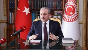 TBMM Başkanı Mustafa Şentop, DHAya özel açıklamada bulundu