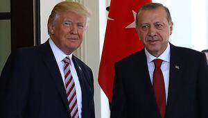Son dakika haberler: Cumhurbaşkanı Erdoğan, ABD Başkanı Trump ile görüştü
