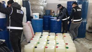Bursada kaçak maske ve dezenfektan operasyonu: 5 gözaltı