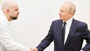 Putin'in tokalaştığı doktorda virüs çıktı