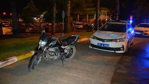 Polisten kaçan motosikletli 2 kişi havalimanında yakalandı