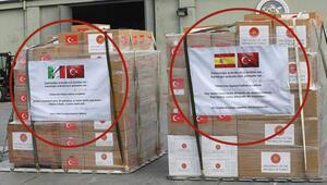 Son dakika... Türkiyeden İspanya ve İtalyaya tıbbi yardım... Askeri kargo uçağı Ankaradan havalandı
