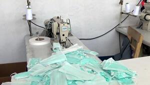 Adanada kaçak üretilen 330 bin lira değerinde maske ele geçirildi