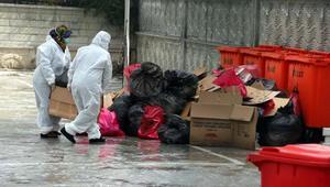 Umre sonrası karantinaya alınanların boşalttığı yurt dezenfekte edildi