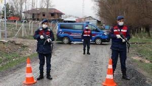 Konya Beyşehirde bir mahallede Corona Virüs şüphesi Sağlık taraması başladı