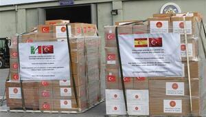 İtalya ve İspanyadan tıbbi malzemeler için Türkiyeye teşekkür