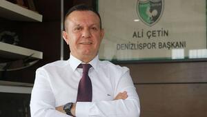 Denizlispor Başkanı Ali Çetin: Desteğe ihtiyacımız var...