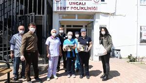 Konyaaltı Belediyesinden maske ve koruyucu gözlük