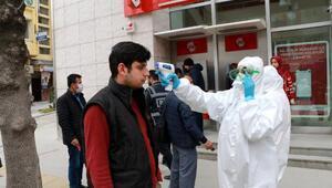 Burdurda yoğun koronavirüs önlemi