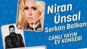 Niran Ünsal'ın Çağrısı #EvdeKal#MüzikleKal İçin