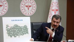 Türkiyede Corona virüsü vakası kaç oldu Türkiyenin il il corona virüs vaka sayısı bilgileri