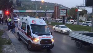 Korona virüs test talebi reddedilince ambulansı kaçırdı
