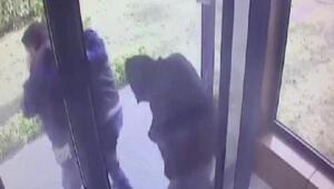 Beylikdüzünde hırsızların apartmana giriş çıkış anları kamerada