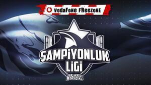 Vodafone Freezone Şampiyonluk Ligi online oynanacak