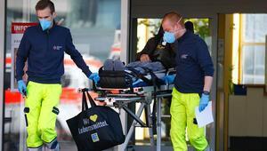 213 hasta tahliye edildi, hastane güvenlik çemberine alındı