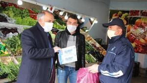 Karlıova Belediyesinden ücretsiz maske dağıtımı