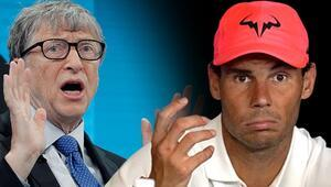 Bill Gates, corona virüsü biliyormuş Rafael Nadalın amcası itiraf etti...