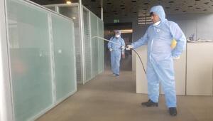 Demirören Medya Center, dezenfekte edildi