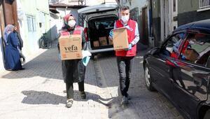 Tokatta 7 bin gıda ve temizlik kolisi dağıtıldı