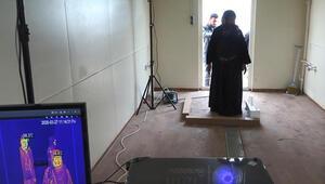 Suriye'ye giriş ve çıkışlarda, termal kameralı corona virüs tedbiri
