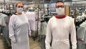 Amerikada doktorlar beyzbol forması giyecek