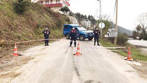 Kastamonuda bir köy ile 4 mahalle daha karantinaya alındı
