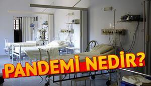 Pandemi nedir Hangi hastaneler pandemi hastanesi