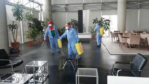 Tüm ofisler temizlendi