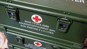 Alman 'dev'lerden tıbbi malzeme temininde hükümete destek
