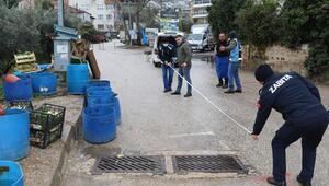 Mudanya'da pazar denetimleri sürüyor