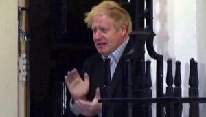 Corona Virüsü karantinasındaydı... Boris Johson ilk kez görüntülendi
