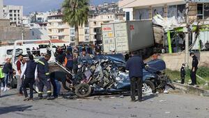 Hataydaki kazada yaralanan kişi hayatını kaybetti
