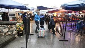 Nilüferde pazarlara giriş noktaları kontrol altında