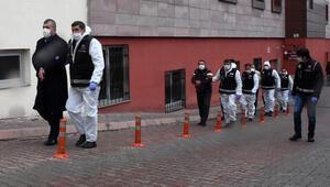 Kayserideki suç örgütü operasyonunda 8 şüpheli adliyeye sevk edildi