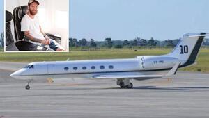 Messinin özel jeti havalimanına acil iniş yaptı