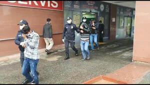 Kahramanmaraşta 6 hırsız suçüstü yakalandı